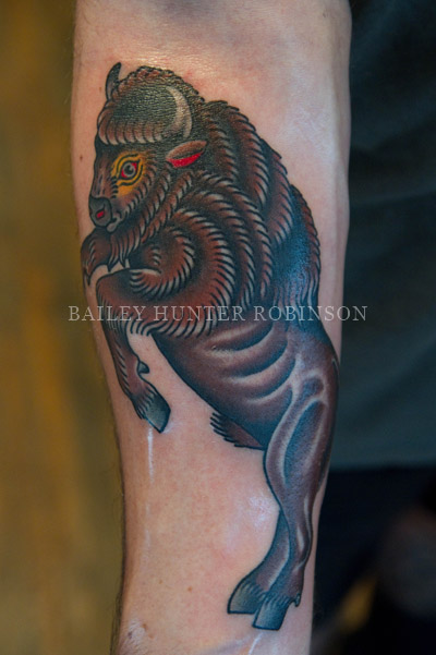 the fabled white buffalo company | Copper Beehive - Tattooing by ...